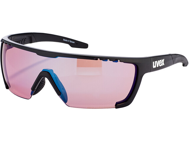 UVEX Sportstyle 707 Colorvision Occhiali, black mat/outdoor